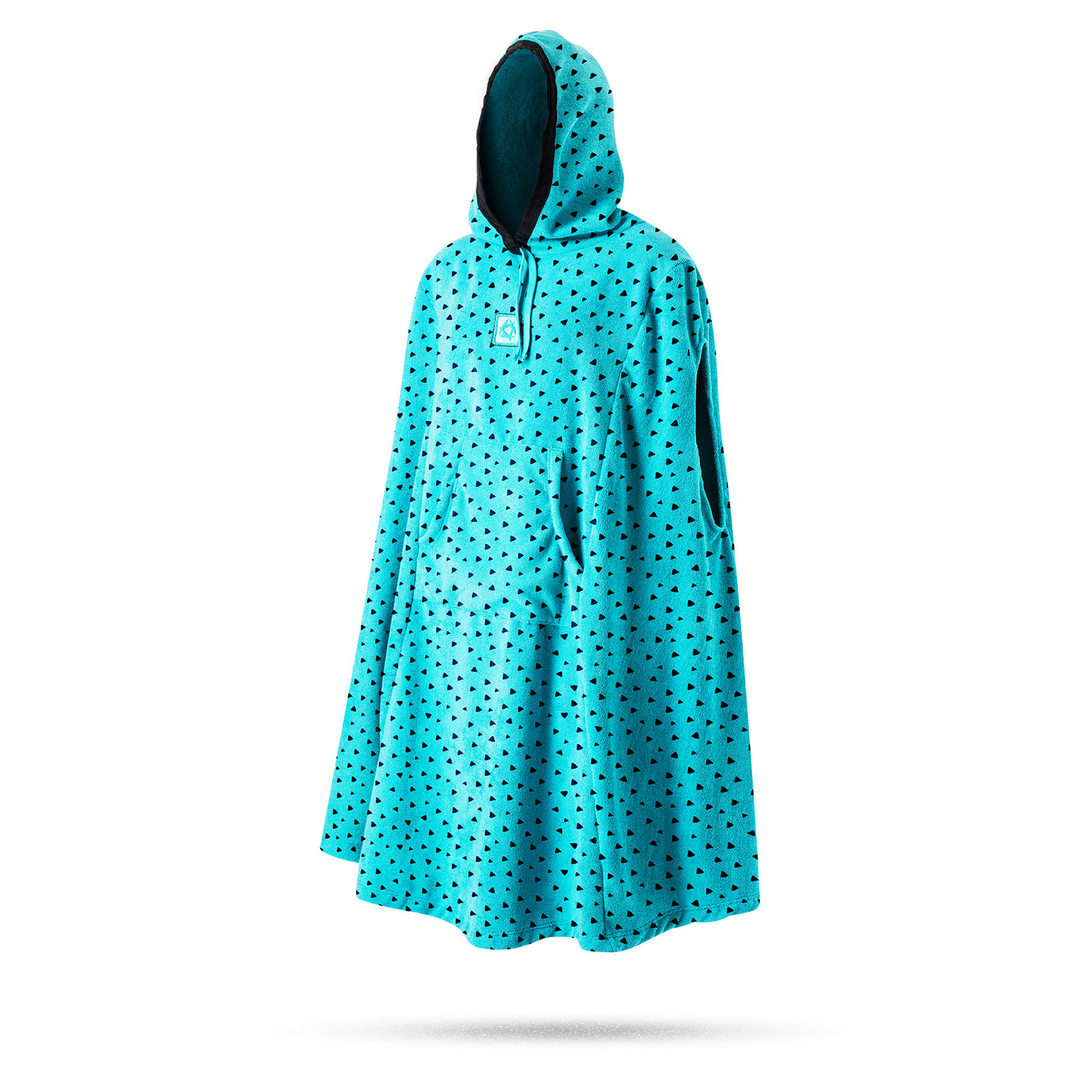 mystic womens poncho fleece changing robe 2017 mint With robe poncho