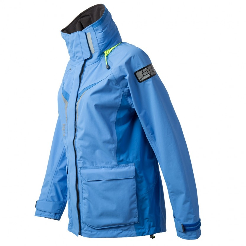 Gill Os3 Womens Coastal Sailing Jacket 2018 Blue Coast Water Sports