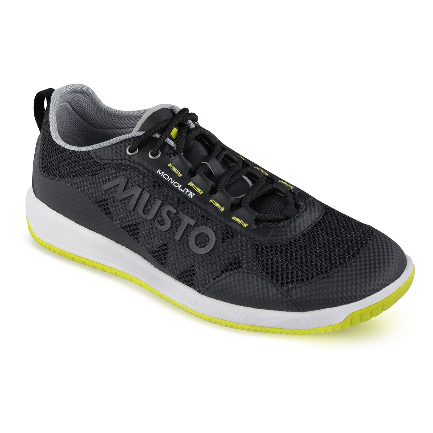 Musto Dynamic Pro Lite Sailing Shoes Black Coast Water Sports