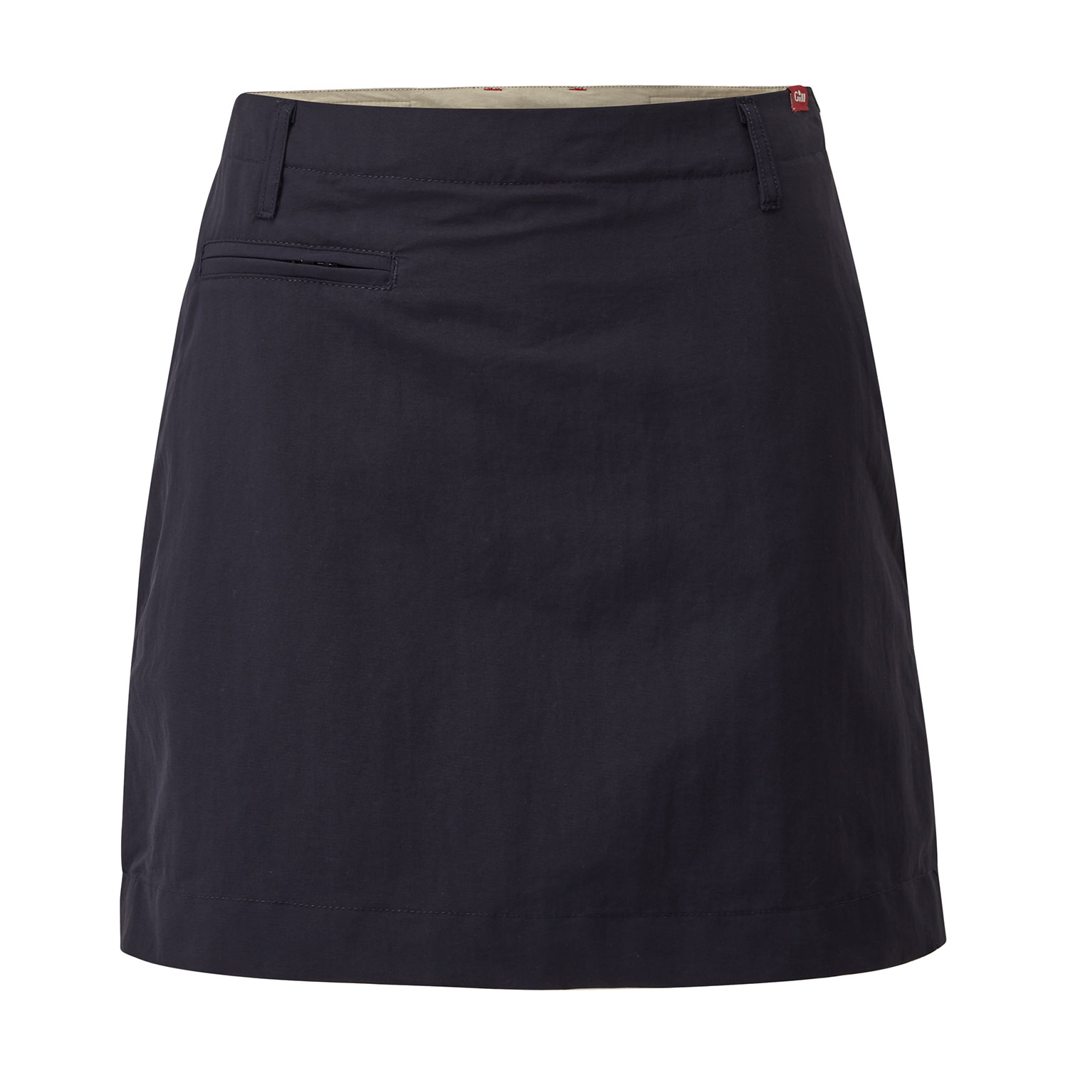 Gill Womens Uv Tec Skort 2019 Navy Coast Water Sports