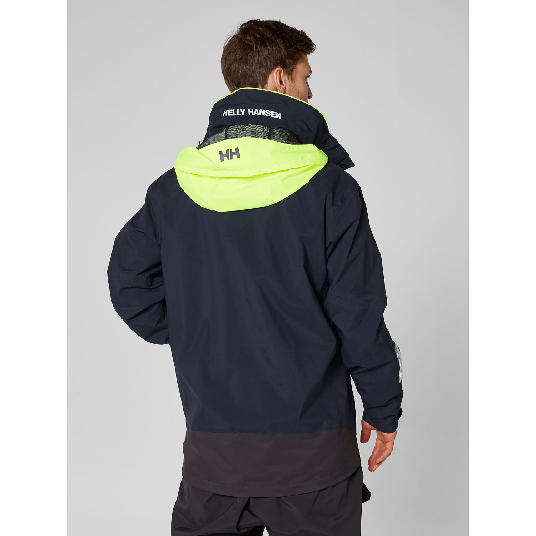 4120168346 Helly Hansen Pier Layer Jacket - Navy | Coast Water Sports
