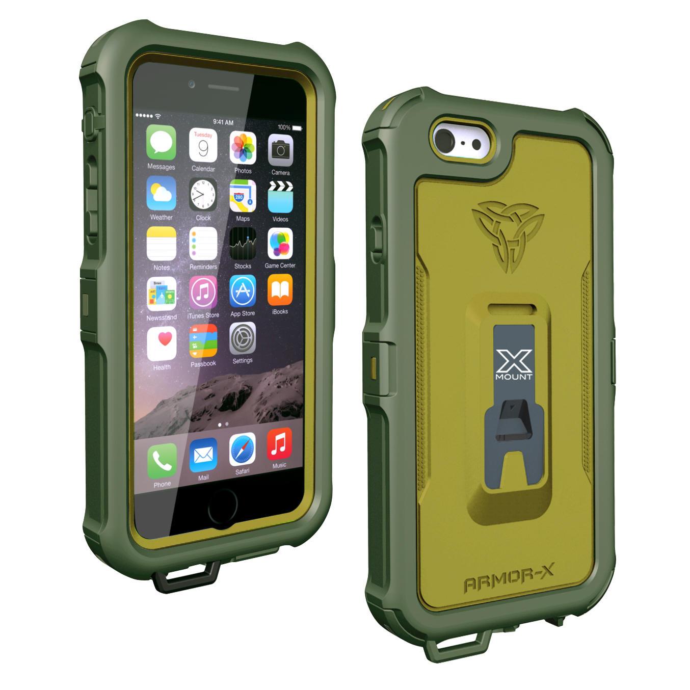Armor x waterproof iphone 6 6s case generation 2 for Housse etanche gps moto