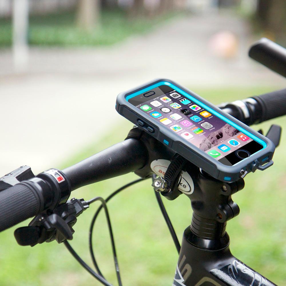 huge discount d0ea1 d7489 Armor-X Waterproof Iphone 6 / 6S Gen 2 Case & Universal Bike Mount Kit