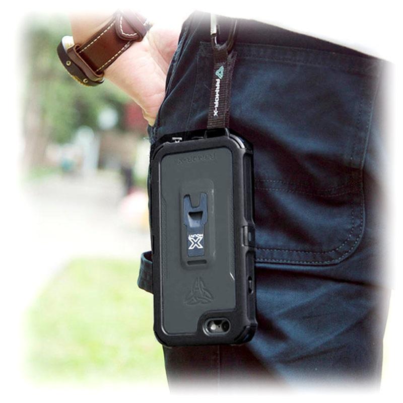 newest 2d756 58ed6 Armor-X Waterproof Iphone 6 / 6S Plus Case - Generation 2 - Black
