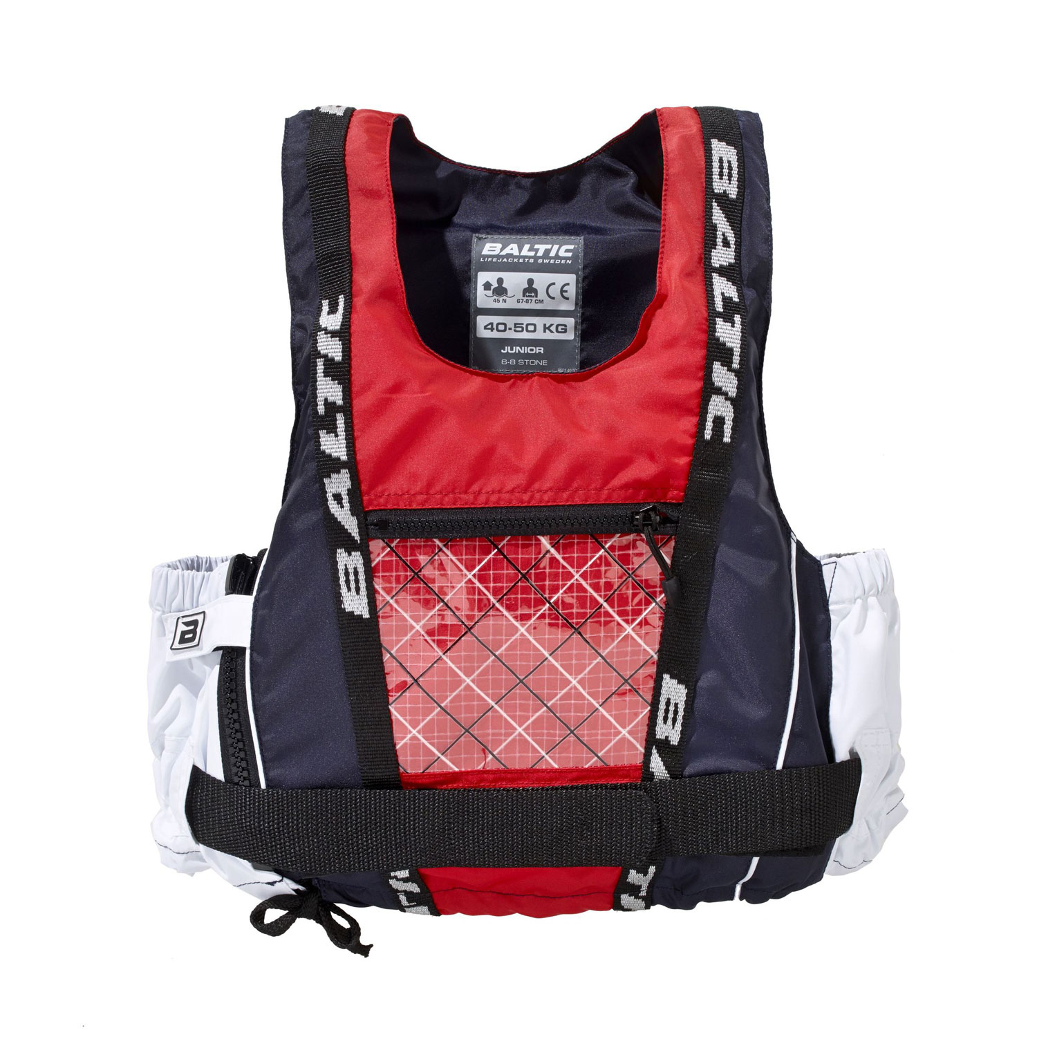 Details about Baltic Junior Dinghy Pro Buoyancy Aid - Navy/Red/White