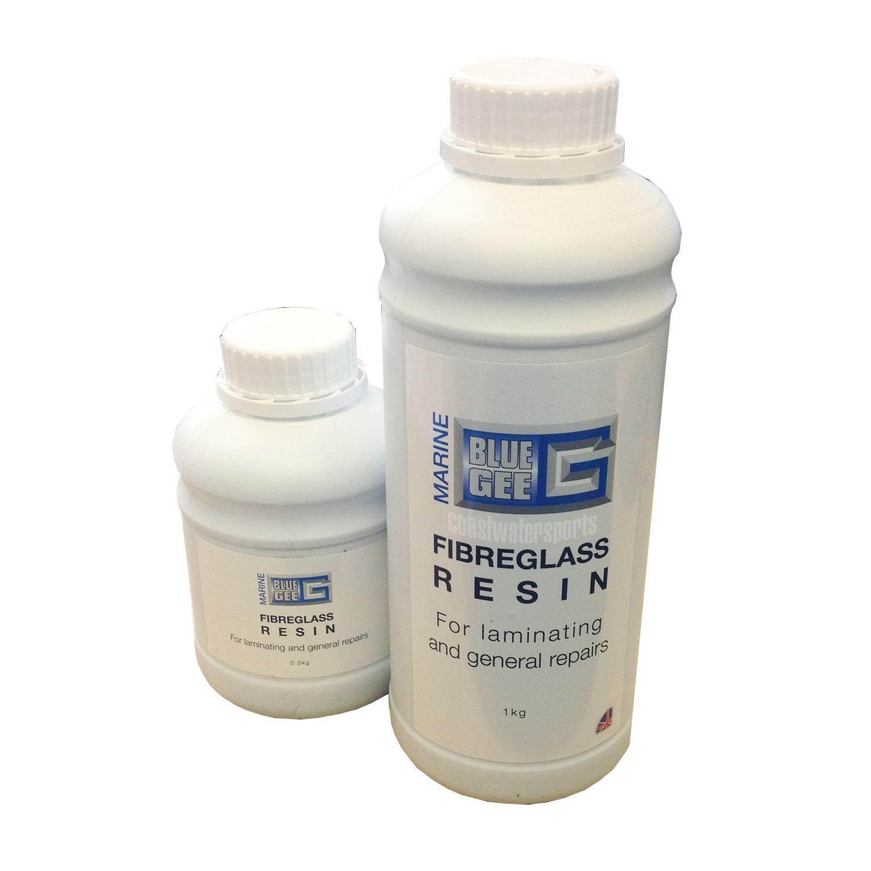 Bluegee Fibreglass Polyester Resin Amp Hardener Various