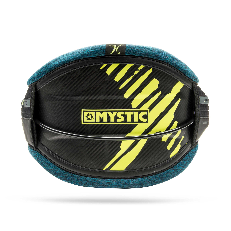 Mystic Majestic X Carbon Kitesurf Harness 2018 Teal
