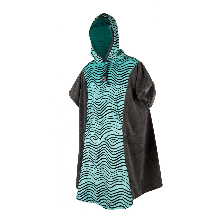 Mystic Womens Poncho Fleece Changing Robe 2018 Grey