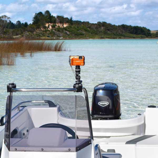 Railblaza camera mount kit gopro kayak fishing accessory for Gopro fishing mounts