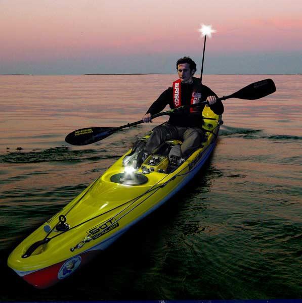 Railblaza telepole 1000 kayak fishing attachment nav for Kayak lights for night fishing