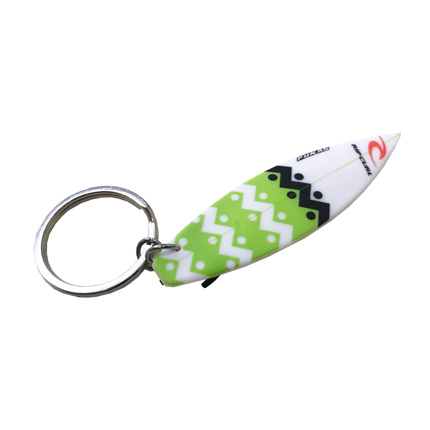 Rip Curl Surfboard Key Ring - Green
