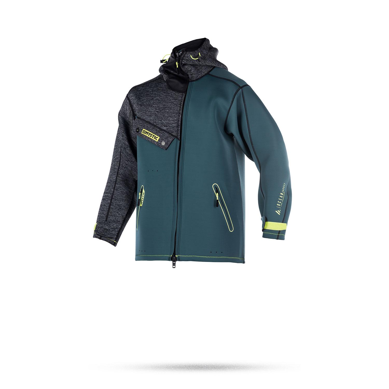 Mystic Ocean Neoprene Kitesurfing Jacket 2017 Teal