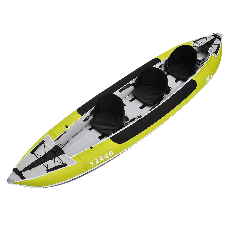 Z Pro Tango 3 Inflatable Kayak Green 2 Or 3 Person Kayak