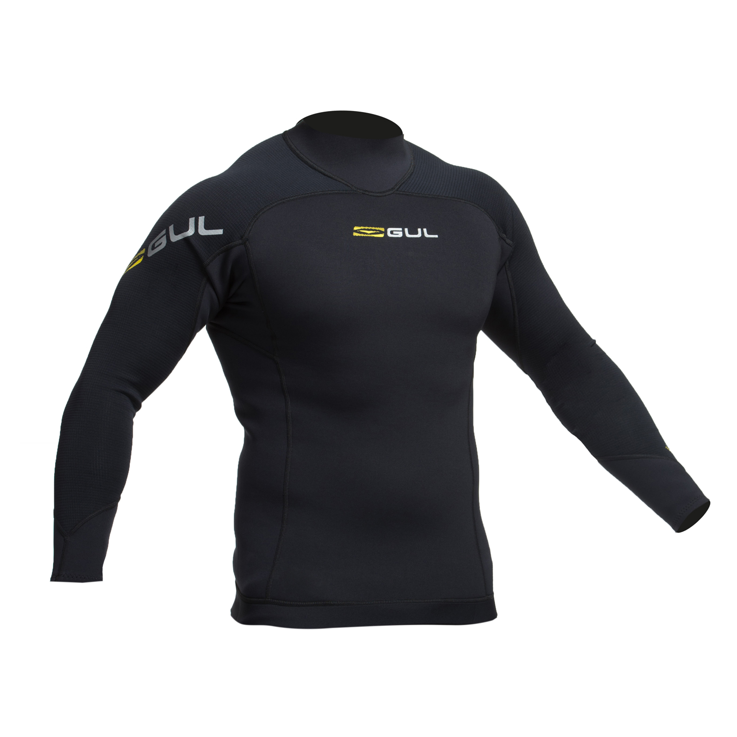 d2ce321088 Gul Code Zero 3mm Thermo Wetsuit Top 2019 - Black