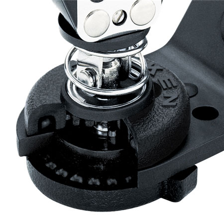 Harken 216 Duocam Swivel Base W Duo Cam Coast Water Sports