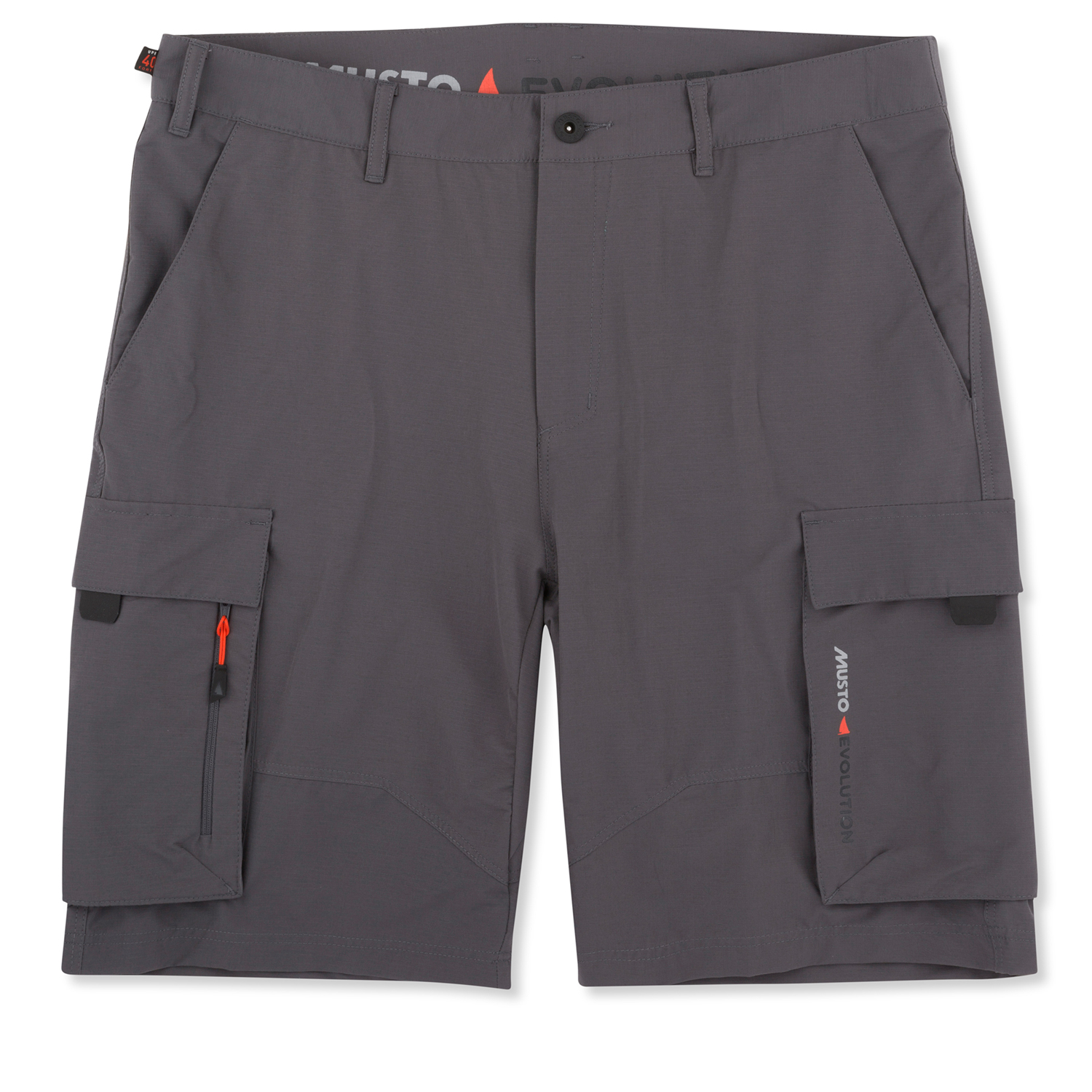 Musto Deck Uv Fast Dry Short 2018 Charcoal Coast Water Sports