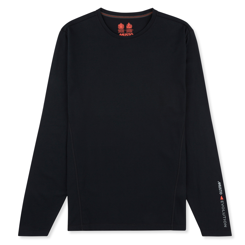 Musto Evolution Sunblock Long Sleeve T Shirt 2018 Black