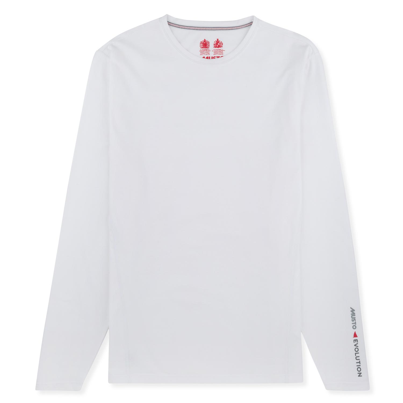 Musto Evolution Sunblock Long Sleeve T Shirt 2017 White
