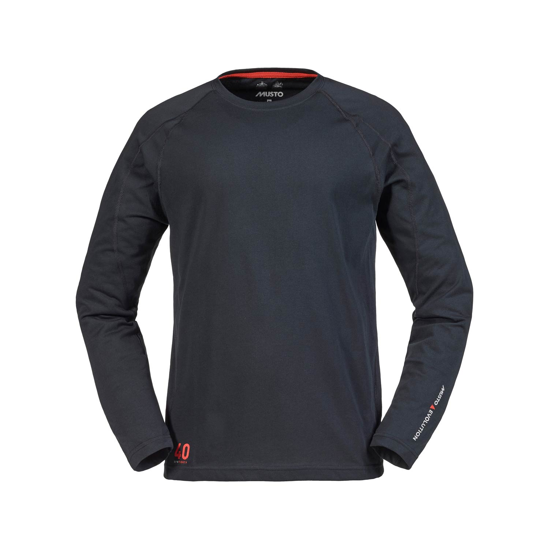 Musto Evolution Sunblock Long Sleeve T Shirt Black Ebay