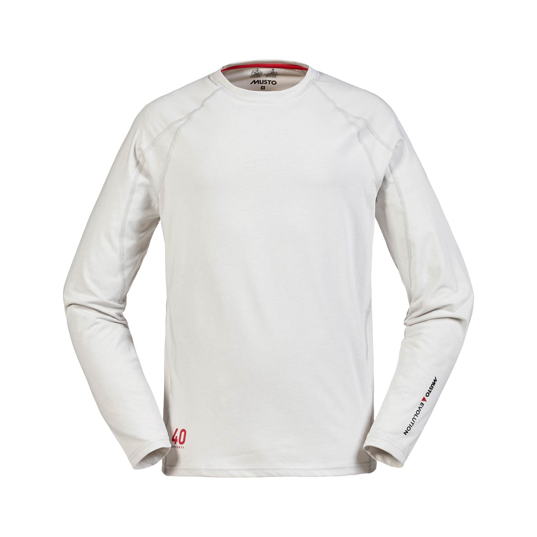 Musto Evolution Sunblock Long Sleeve T Shirt Platinum Ebay
