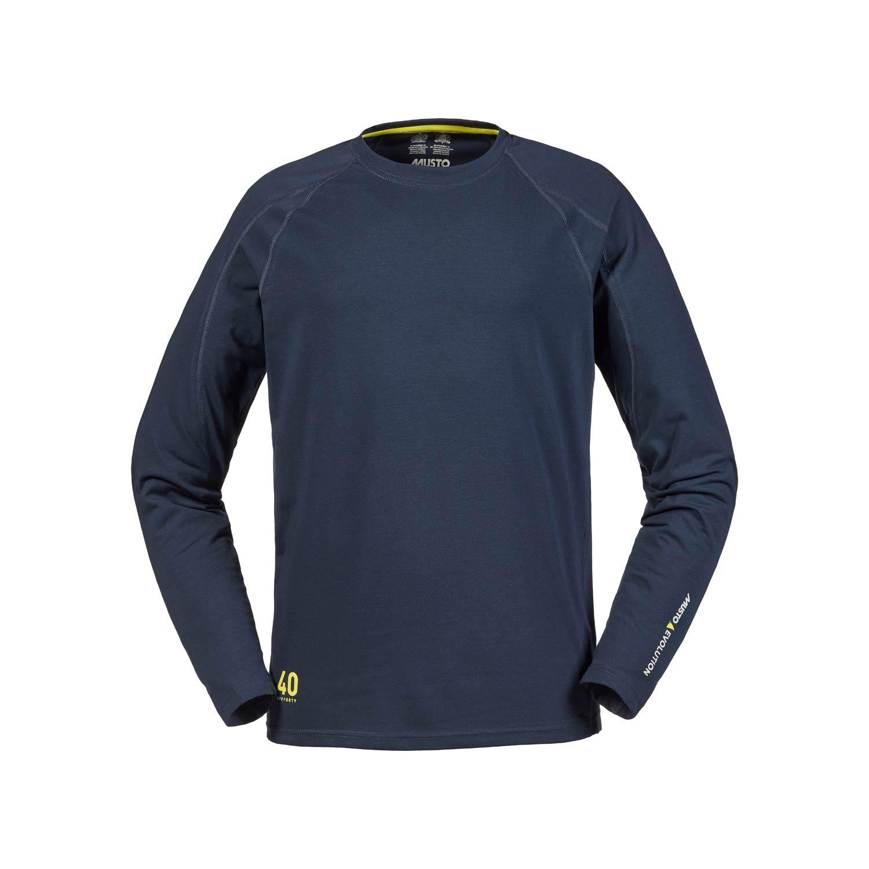 Musto Evolution Sunblock Long Sleeve T Shirt True Navy