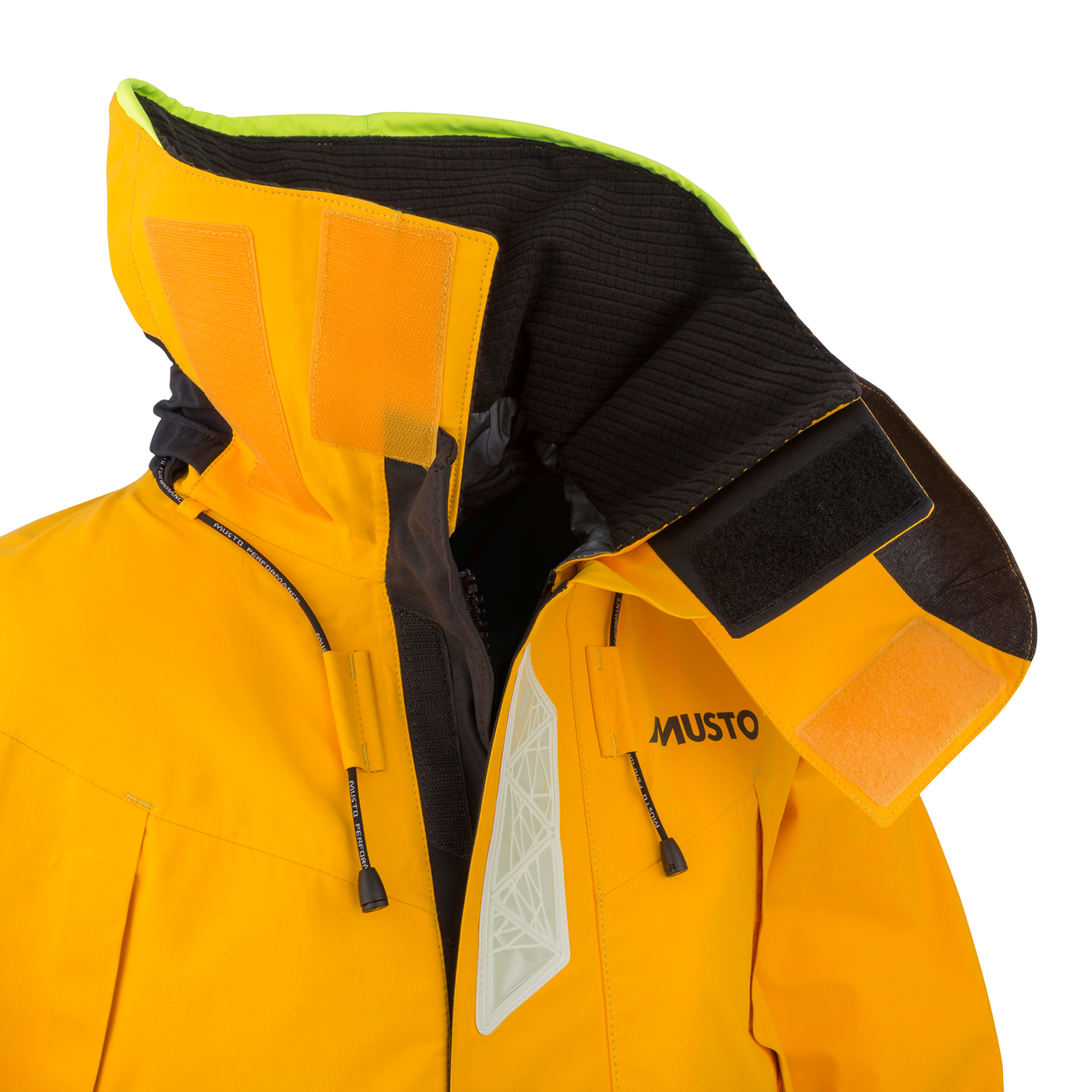 Musto Hpx Gore Tex Ocean Jacket 2018 Gold Black Coast