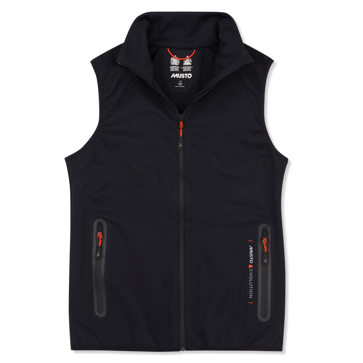 Musto Womens Crew Softshell Gilet 2019 Black Coast