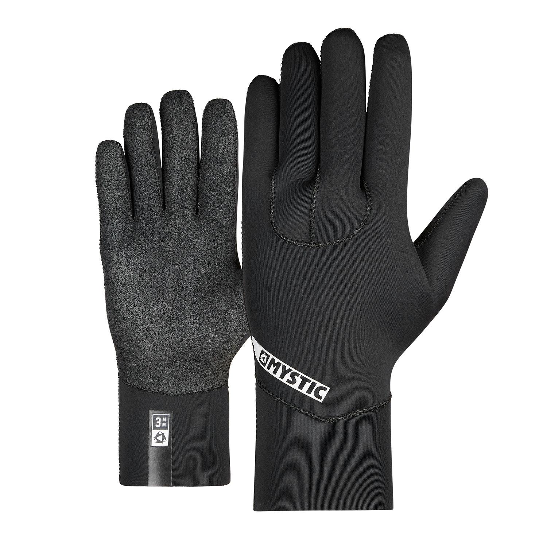 Black Mystic Star 3mm 5 Finger Wetsuit Gloves 2020