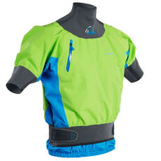 Palm Zenith Short Sleeve Kayak Jacket - Lime/Ocean