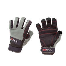 Gul Summer Short Finger Junior Sailing Glove 2018 - Black/Charcoal