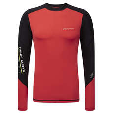 Henri Lloyd Energy Rash Vest / Guard 2015 - Coral Red