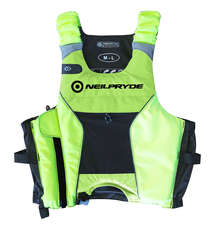 Neil Pryde Elite Giubbotto Salvagente / Gilet 2020 - Hi Viz Yellow
