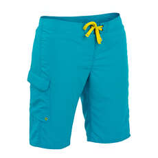 Palm Skyline Frauen Pant 2017 - Aqua
