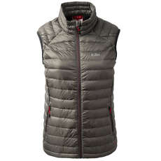 Gill Womens Hydrophobe Down Gilet - Pewter