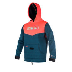 Mystic Voltage Sweat Neoprene Hoody 2019 - Coral