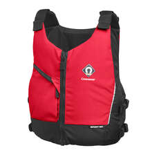 Crewsaver Junior Sport 50N Chest Zip Buoyancy Aid 2019 - Red