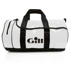Gill Tarp Barrel Bag - White