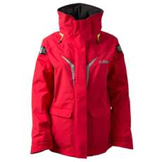 Gill Os3 Womens Coastal Sailing Jacket 2018 - Rosso