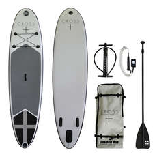"Gul Cross Inflatable SUP - 10'7 x 6"" Paddle Board Package 2019"