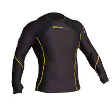 Gul Evotherm Long Sleeve Thermal Rash 2019 - Black/Yellow