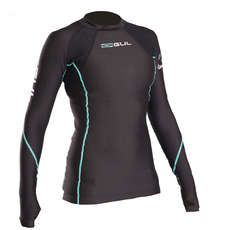 Gul Womens Evotherm Long Sleeve Thermal Rashguard 2019 - Black