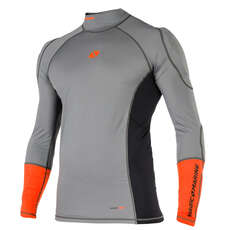 Magic Marine Impact Pro Long Sleeve Top 2018 - Grey