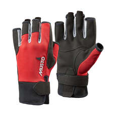 Musto Essential Short Finger Sailing Gloves -  - True Red