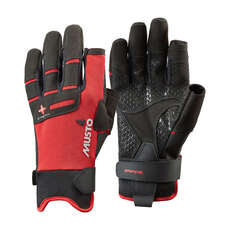 Guantes De Vela Larga Musto Performance Finger -  - Rojo