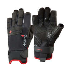 Musto Performance Short Finger Sailing Gloves - 2018 - Black