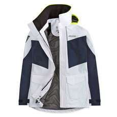 Musto Womens BR2 Coastal Jacket 2019 - White/True Navy