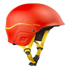 Palm Shuck Full Cut Kayak Helmet - Red