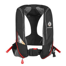 Crewsaver Crewfit 180N Pro Lifejacket - Black - Manual