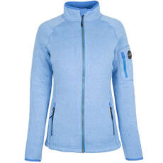 Gill Womens Knit Fleece Jacket 2019 - Azul Claro