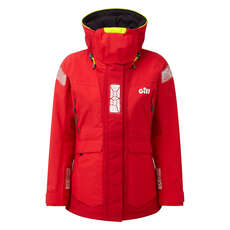 Gill Womens Os2 Offshore / Coastal Sailing Jacket  - Rojo